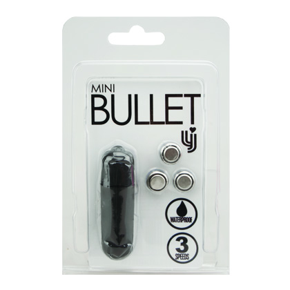 Loving Joy 3 Speed Bullet Vibrator Black