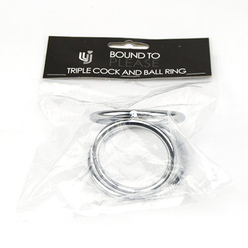 Bound to Please Metal Love Ring