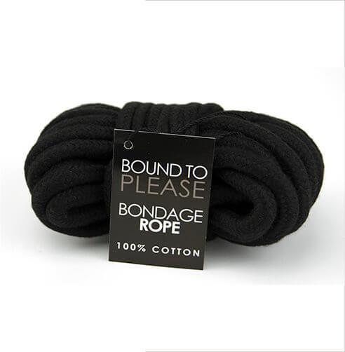 Black Bondage Rope
