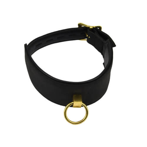 Bound Noir Bondage Collar