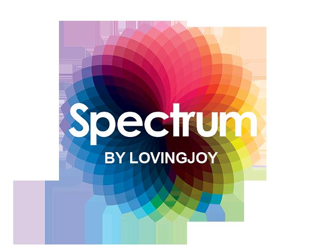 Spectrum Glass Dildo Logo